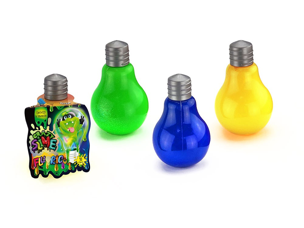 Fluoric Slime в лампочке