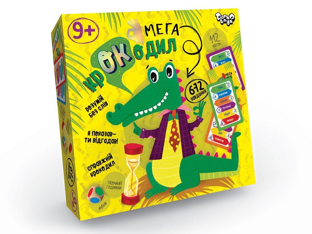 «Мега Крокодил» 112 карт