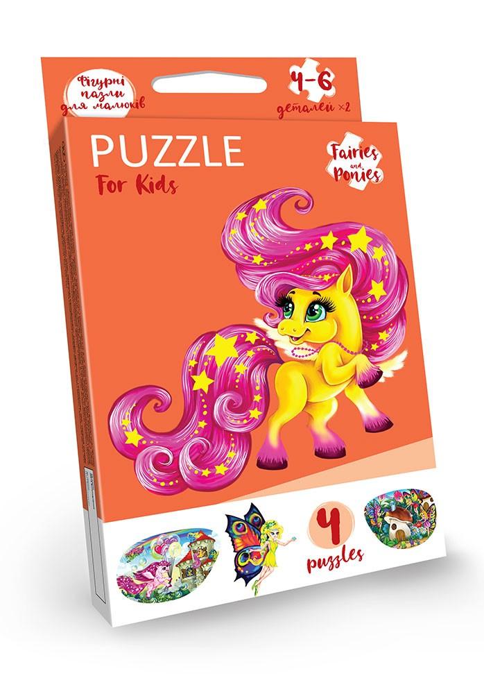 Puzzle для малышей (4 пазла)