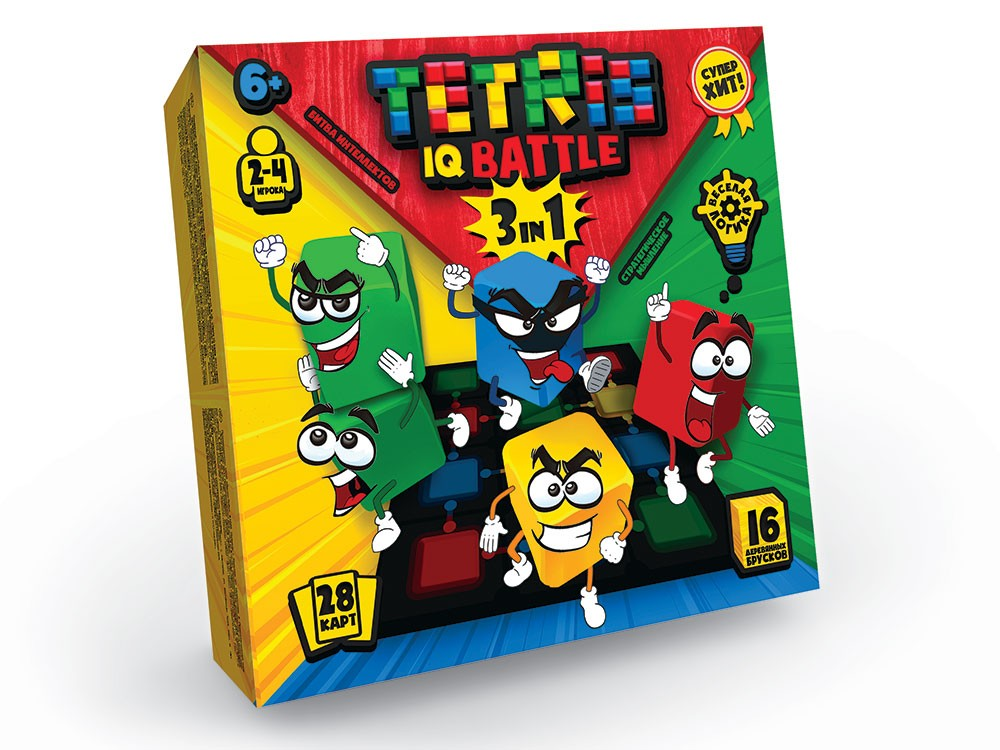 Tetris IQ Battle 3в1